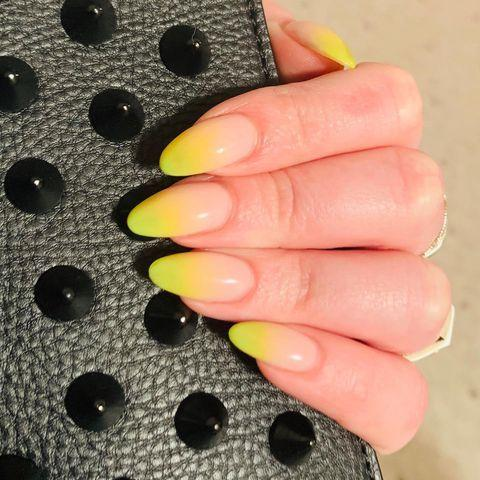 """<p>A manicure inspired by your favourite summer cocktail? Naturally.</p><p><a href=""""https://www.instagram.com/p/BxdKoQ0FTVr/"""" rel=""""nofollow noopener"""" target=""""_blank"""" data-ylk=""""slk:See the original post on Instagram"""" class=""""link rapid-noclick-resp"""">See the original post on Instagram</a></p>"""