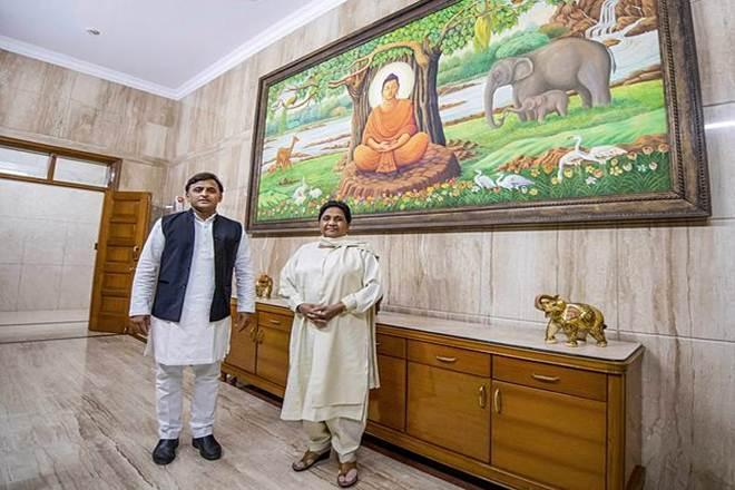 The moves come after the SP- BSP Mahatbandhan ( Grand Alliance) in Uttar Pradesh suffered a humiliating loss in the Lok Sabha election 2019 (PTI photo)