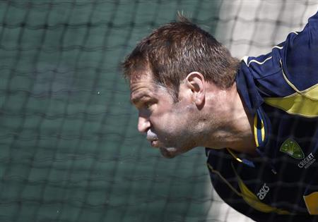 Australia's Ryan Harris bowls during a net session at the Sydney Cricket Ground January 2, 2012.Australia's Ryan Harris bowls during a net session at the Sydney Cricket Ground January 2, 2012.