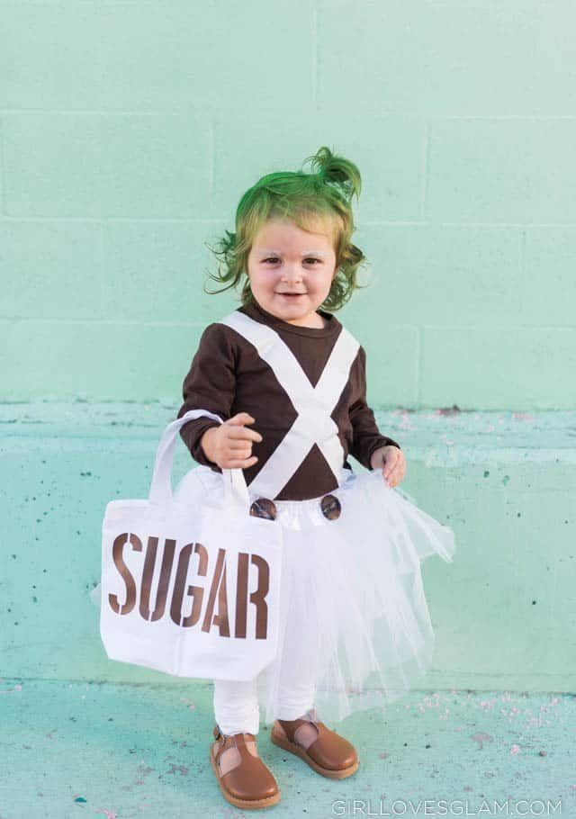 """<p>What better way to emulate the movie's famed Oompa Loompas than having your toddler take on the role? </p><p><strong>Get the tutorial at </strong><a href=""""https://www.girllovesglam.com/oompa-loompa-costume-for-girls/"""" rel=""""nofollow noopener"""" target=""""_blank"""" data-ylk=""""slk:Girl Loves Glam"""" class=""""link rapid-noclick-resp""""><strong>Girl Loves Glam</strong></a><strong>.</strong></p><p><a class=""""link rapid-noclick-resp"""" href=""""https://www.amazon.com/Musever-Vintage-Ballet-Bubble-Petticoat/dp/B06XCGR6CW/ref?tag=syn-yahoo-20&ascsubtag=%5Bartid%7C10050.g.28698768%5Bsrc%7Cyahoo-us"""" rel=""""nofollow noopener"""" target=""""_blank"""" data-ylk=""""slk:SHOP WHITE TUTUS"""">SHOP WHITE TUTUS</a></p>"""