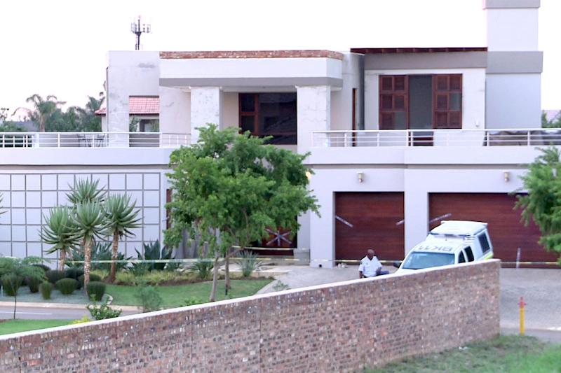 The former house of Oscar Pistorius, which he sold to cover legal costs (AFP Photo/)