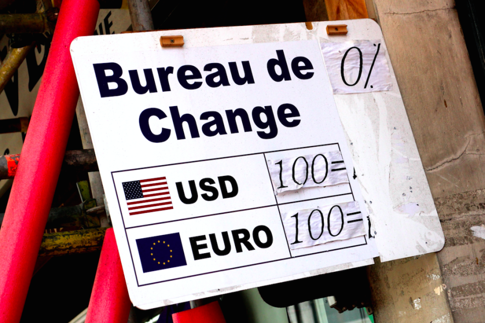 Deals ar bureaux de change may not be all they're cracked up to be (Picture: Rex)