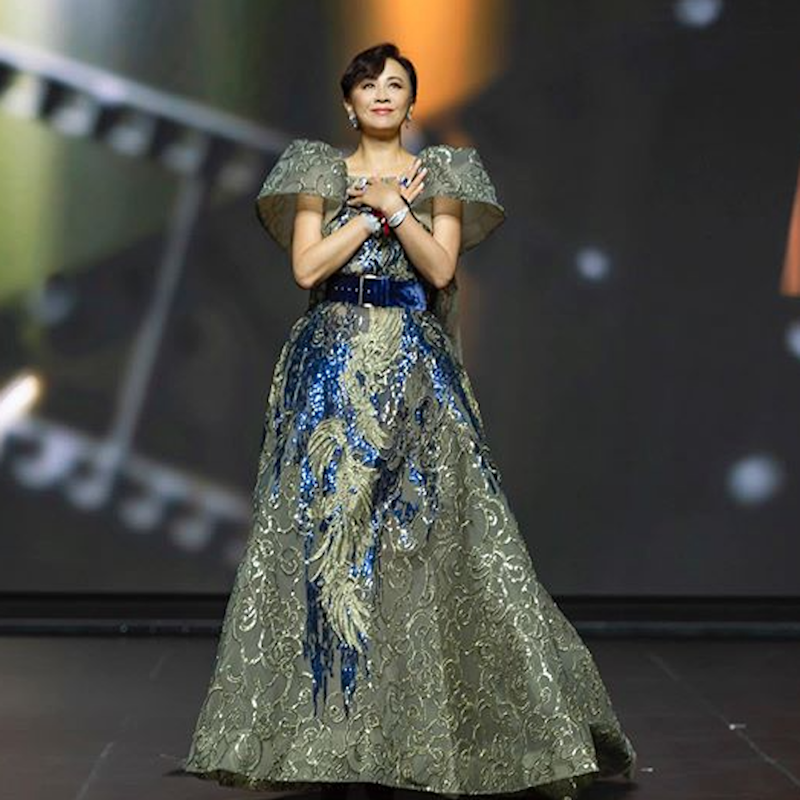 Carina Lau insists she will never stop acting, and is always looking forward to new challenges. — Picture via Instagram/carinalau1208