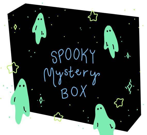 "<h2><a href=""https://www.etsy.com/listing/632014390/spooky-mystery-box"" rel=""nofollow noopener"" target=""_blank"" data-ylk=""slk:Spooky Mystery Club"" class=""link rapid-noclick-resp"">Spooky Mystery Club</a></h2><br>Curated horror-themed, yet cute, collectibles for Halloween fans stuffed with stationery, temporary tattoos, pins, and art prints. <br><br><strong>Price:</strong> $20<br><br><strong>Horror Buffs Say:</strong> ""I. Am. Obsessed. To begin I loved this shop when I found it. And honestly, I've been struggling for a while to figure out what I wanted to get (I want it all) but then I saw this mystery box! It took the pressure off trying to pick cause I knew I'd love anything I got! Will get again."" - <em>Tabitha H </em><br><br><strong>SpookyDoodleClub</strong> Spooky Mystery Box, $, available at <a href=""https://go.skimresources.com/?id=30283X879131&url=https%3A%2F%2Fwww.etsy.com%2Flisting%2F632014390%2Fspooky-mystery-box"" rel=""nofollow noopener"" target=""_blank"" data-ylk=""slk:Etsy"" class=""link rapid-noclick-resp"">Etsy</a>"