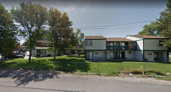 Authorities responding to this apartment complex in Boise, Idaho, found nine stabbing victims Saturday night. (Google Maps)