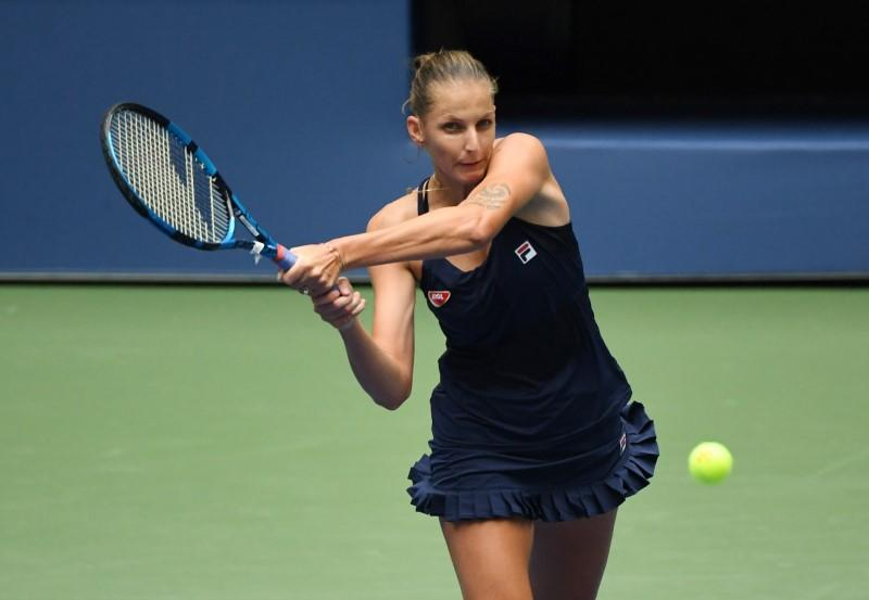 Pliskova rolls over first-round opponent to keep alive Grand Slam maiden title bid