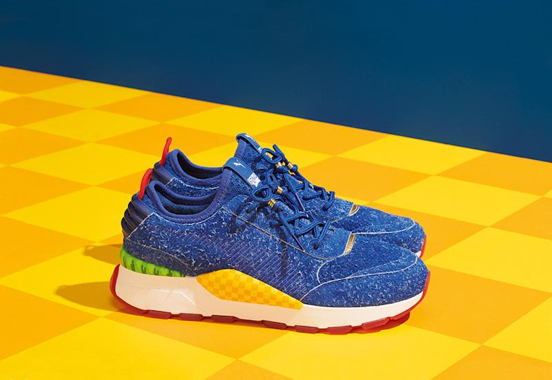 2097df49b9a6 Puma s Sonic the Hedgehog Sneaker Collab Officially Gets a Launch Date