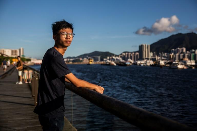 Tony Chung, 19, is a former member of Student Localism, a small group that advocated Hong Kong's independence from China