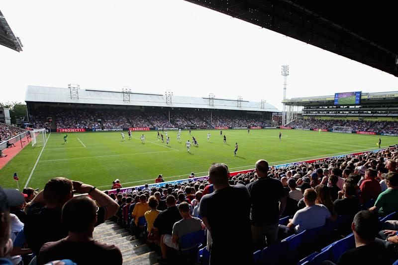 Naming rights: Selhurst Park has been the club's home since 1924: Getty Images