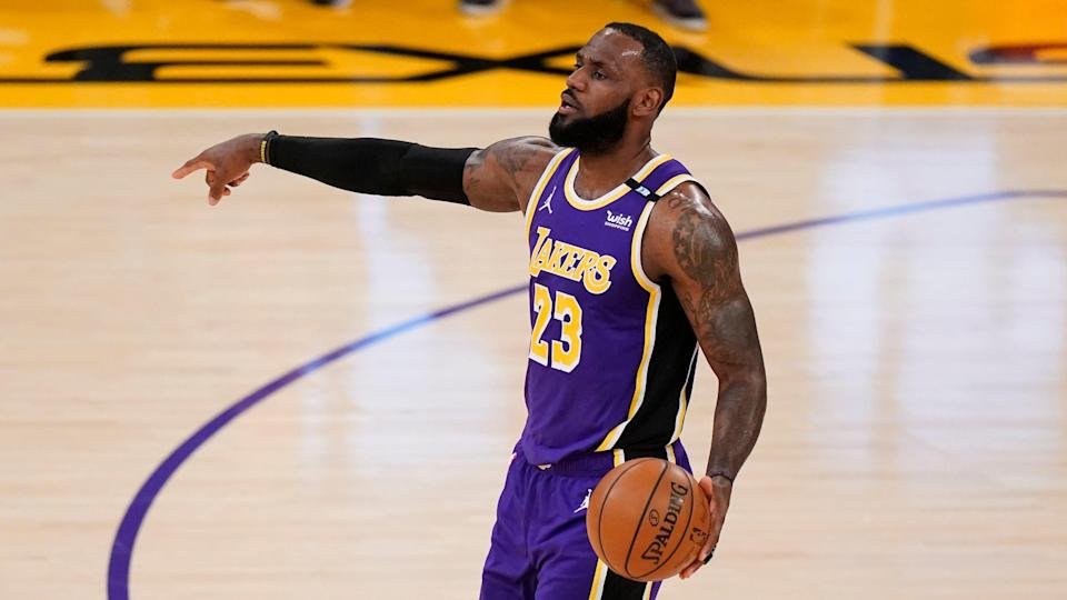 LeBron James is expected to return to the lineup for the final two Lakers regular season games this weekend.