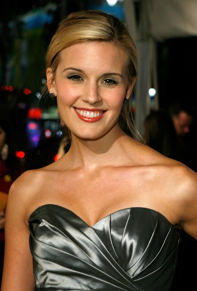 """<a href=""""http://movies.yahoo.com/movie/contributor/1808474441"""">Maggie Grace</a> at the Los Angeles premiere of <a href=""""http://movies.yahoo.com/movie/1808406490/info"""">Watchmen</a> - 03/02/2009"""