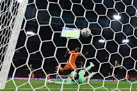 Denzel Dumfries scored twice for the Netherlands at Euro 2020