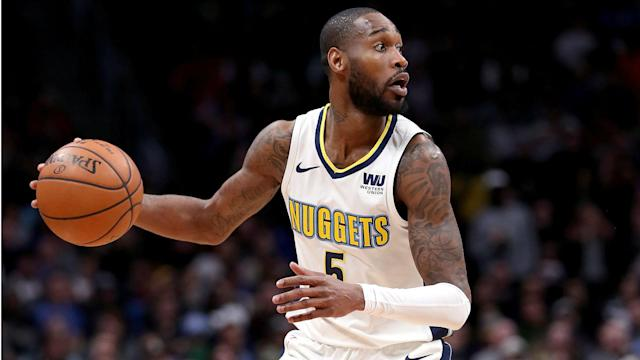 "<a class=""link rapid-noclick-resp"" href=""/nba/players/5074/"" data-ylk=""slk:Will Barton"">Will Barton</a> averaged 15.7 points and 4.1 assists per game for Denver last season. (AP)"