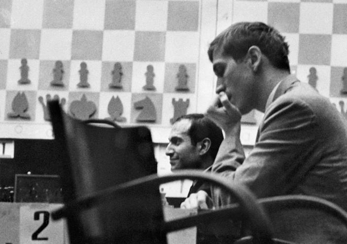 Bobby Fischer stunned Soviet champion Boris Spassky in an epic series in 1972 that epitomised the Cold War rivalry between the two superpowers (AFP Photo/-)
