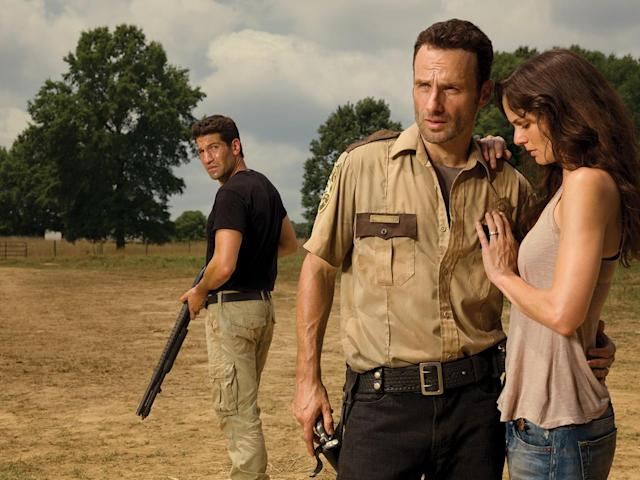 <p>Sure, Lori presumed that her husband was dead, and his best friend, Shane, had kept her and her son Carl alive, but, you know, a simple verbal thank-you would have been a sufficient show of gratitude. Instead, she slept with Shane, and then played him and (surprise, not dead!) Rick against each other, causing soapy drama, and getting preggers with Shane's baby — whom Rick is now raising.<br><br>(Photo: AMC) </p>