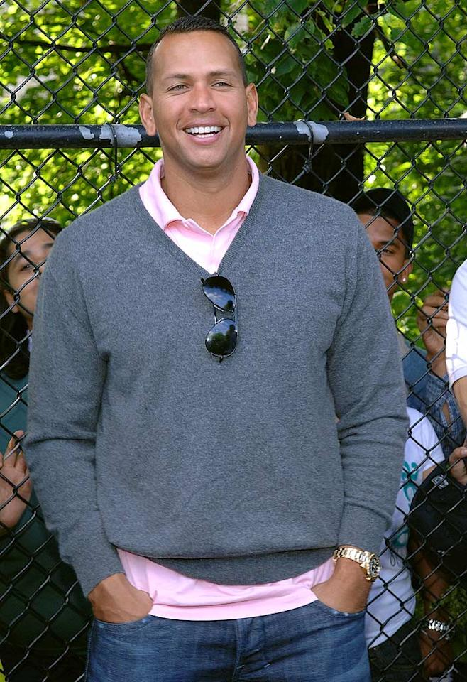 """After 11 years together, the couple filed for divorce. Soon after, the """"Beautiful Stranger"""" singer was attached to the arm of a beautiful slugger -- the Yankees' Alex Rodriguez -- causing many to raise an eyebrow and draw a link between the two events. Coincidentally, A-Rod's wife cited """"extramarital affairs"""" when she filed for divorce three months before Madonna did. Duffy-Marie Arnoult/<a href=""""http://www.wireimage.com"""" target=""""new"""">WireImage.com</a> - June 6, 2009"""