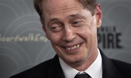 """Steve Buscemi arrives for the premiere of HBO's television series """"Boardwalk Empire"""" Season 4 in New York"""