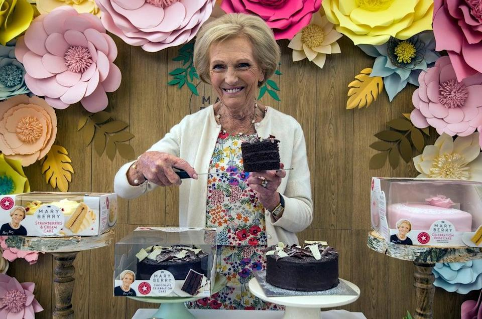 Mary Berry launched a range of cakes with Finsbury Food (Lauren Hurley/PA) (PA Archive)