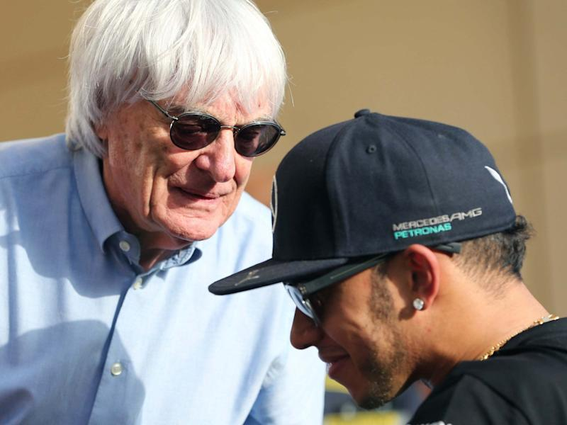Bernie Ecclestone has hit back at Lewis Hamilton for calling him 'uneducated and ignorant': AP
