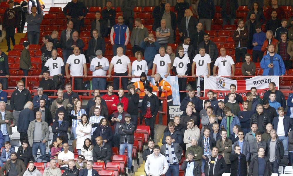 Charlton fans ignore Northampton game and head to Belgium for protest | Amy Lawrence