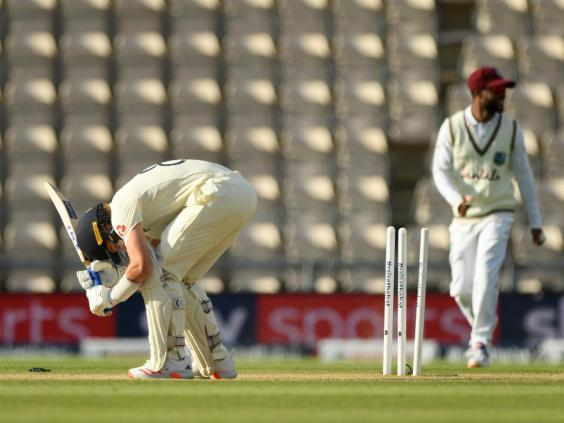 England lost five wickets for just 30 runs (Getty Images for ECB)