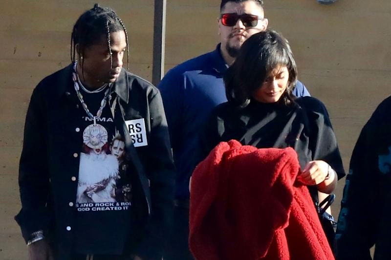 Travis Scott Visited the Kardashian-Jenner Family Dentist Before Weekend Date with Kylie Jenner