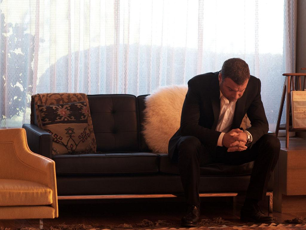 "Liev Schreiber as Ray Donovan in the series premiere of Showtime's ""Ray Donovan."""