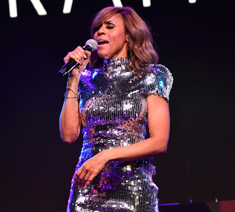 Deborah Cox, pictured at the AIDS Healthcare Foundation 2019 Atlanta World AIDS Day Concert in December, will perform as part of an NYC Pride broadcast later this month. (Photo: Prince Williams/ Getty Images)