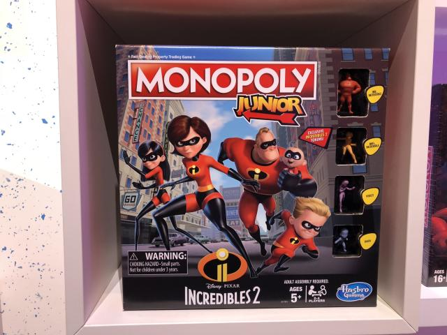 <p>No question about it: <em>The Incredibles </em>sequel has a monopoly on the summer's animated offerings, both in theaters and at toy stores. (Photo: Adam Lance Garcia) </p>