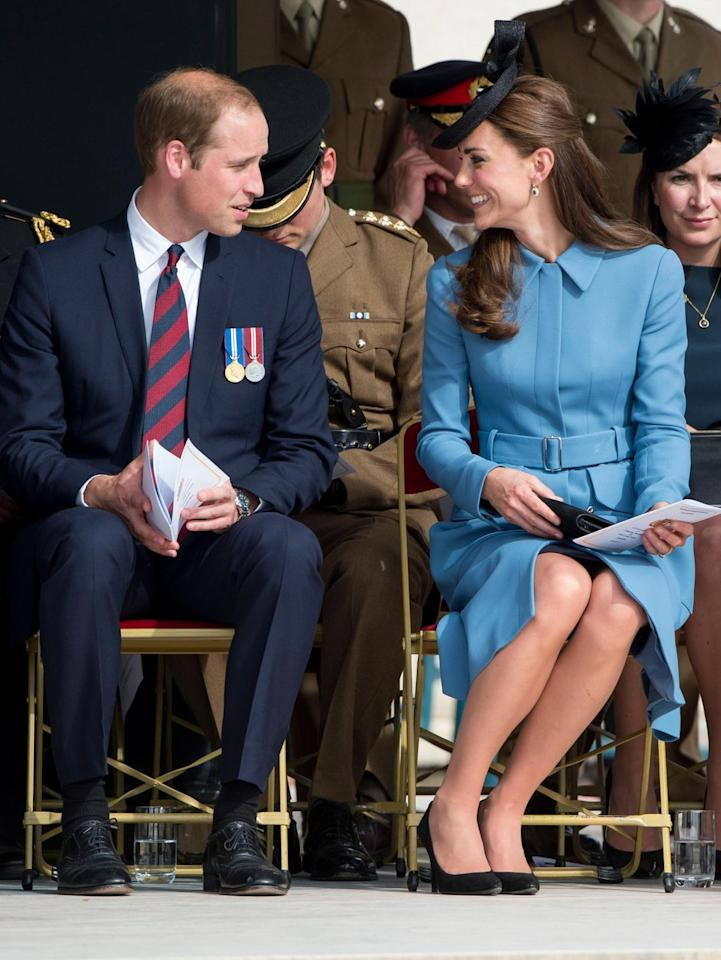 <p>Will and Kate had some nice body language at a commemoration of the Normandy Landings in Arromanches, France. </p>