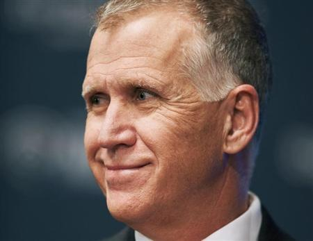 Thom Tillis attends a debate between the four top-polling Republican candidates in North Carolina for the U.S. Senate, at Davidson College in Davidson, North Carolina April 22, 2014. Picture taken April 22, 2014. To match USA-NORTHCAROLINA-SENATE REUTERS/Davis Turner