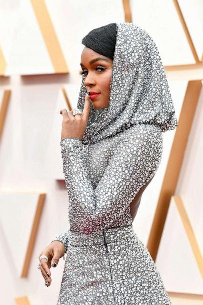 PHOTO: Janelle Monae arrives at the Oscars, Feb. 9, 2020, in Hollywood, Calif. (Amy Sussman/Getty Images)
