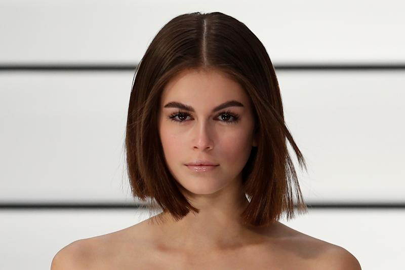 Model Kaia Gerber presents a creation by designer Virginie Viard as part of her Fall/Winter 2020/21 women's ready-to-wear collection show for fashion house Chanel during Paris Fashion Week in Paris, France, March 3, 2020. REUTERS/Gonzalo Fuentes