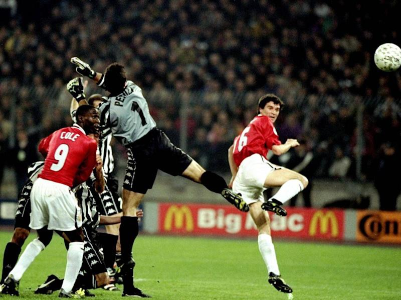 United defeated Juve on their way to the Champions League title in 1999 (Getty Images)