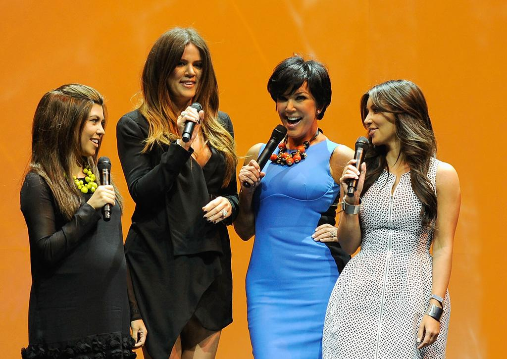 "The Kardashian sisters are ""ditching their monster mom!"" reports <i>In Touch.</i> The mag reveals Kim, Kourtney and Khloe are ""fed up"" with Kris Jenner's ""controlling ways,"" and are firing her as their manager. For what Jenner did to push each one over the edge, and whether they'll also quit ""Keeping Up With the Kardashians,"" log on to <a target=""_blank"" href=""http://www.gossipcop.com/kardashians-firing-kris-jenner-kardashian-sisters-fighting/"">Gossip Cop</a>."
