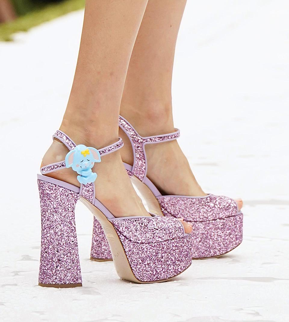 <p>Shoes from Moschino spring 2022 collection.</p>