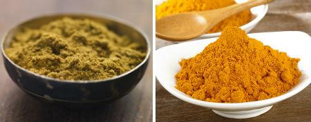 1/2 tsp ground jeera (cumin) powder <br />1/2 tsp haldi (turmeric)
