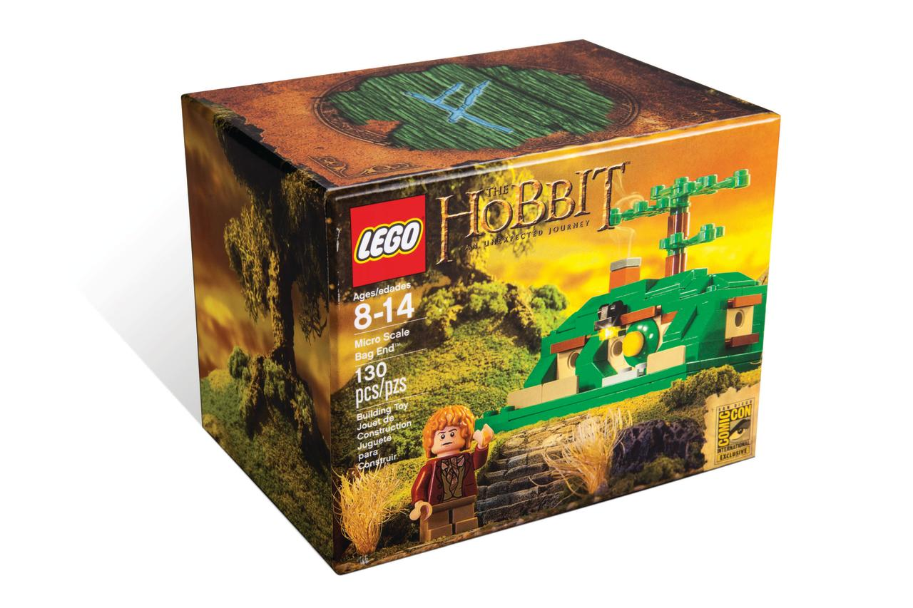 "<b>""The Hobbit: An Unexpected Journey"" Micro Scale Bag End Building Set</b><br />LEGO"