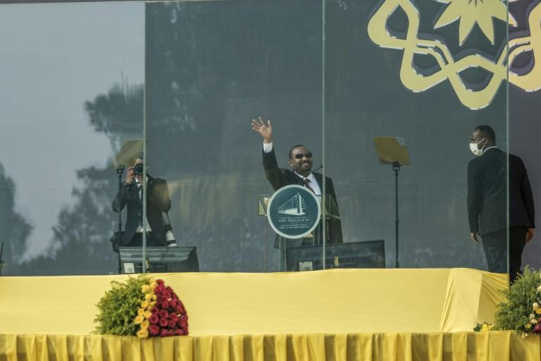 Abiy Ahmed was sworn in for a new term as prime minister of Ethiopia on Monday (AFP/EDUARDO SOTERAS)