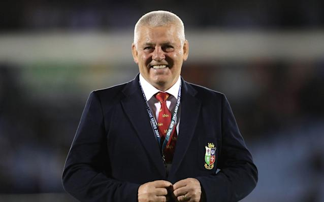 Warren Gatland has agreed to become head coach of the British and Irish Lions for the tour to South Africa in 2021. - PA