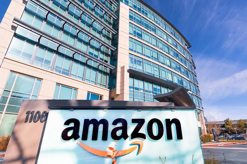 Jan 24, 2020 Sunnyvale / CA / USA - Amazon headquarters located in Silicon Valley, San Francisco bay area