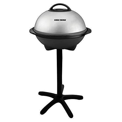 """<p><strong>George Foreman</strong></p><p>amazon.com</p><p><strong>$81.02</strong></p><p><a href=""""https://www.amazon.com/dp/B00004W499?tag=syn-yahoo-20&ascsubtag=%5Bartid%7C10055.g.399%5Bsrc%7Cyahoo-us"""" rel=""""nofollow noopener"""" target=""""_blank"""" data-ylk=""""slk:Shop Now"""" class=""""link rapid-noclick-resp"""">Shop Now</a></p><p>Get him the grill he can take with him whether he's inside or outside. With an easy-to-remove stand, this George Foreman grill works just as well at the tailgate party as it does on the kitchen countertop.</p>"""