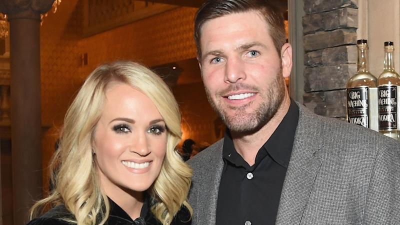 Carrie underwood gets silly and sweet birthday post from for Carrie underwood husband mike fisher