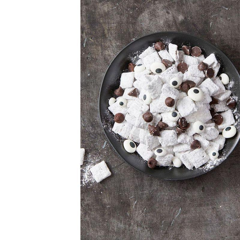 """<p>Chow down on this ghastly mix that includes some candy eyes for a truly creepy addition.</p><p><em>Get the recipe at <a href=""""https://www.goodhousekeeping.com/food-recipes/a28543245/i-see-you-snack-mix-recipe/"""" rel=""""nofollow noopener"""" target=""""_blank"""" data-ylk=""""slk:Good Housekeeping"""" class=""""link rapid-noclick-resp"""">Good Housekeeping</a>.</em></p>"""