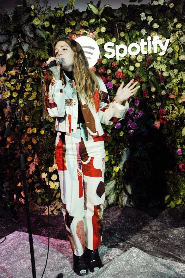 maggie rogers spotify event