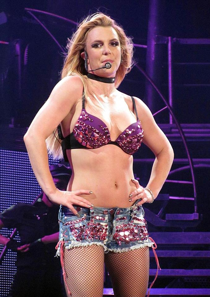 """Britney Spears """"wants plastic surgery"""" before she turns 30 next month, says <em>In Touch</em>, because she's really """"not happy"""" with her body. The magazine notes she's already """"met with a plastic surgeon to explore more extreme options."""" For what procedures she plans on secretly having performed, and when, check out what a Spear friend reveals to <a href=""""http://www.gossipcop.com/britney-spears-plastic-surgery-cosmetic-younger-weight-body-30-birthday/"""">Gossip Cop</a>."""
