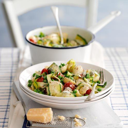 """<p>This quick pan sauce will see you turn to this pasta recipe time and time again.</p><p><strong>Recipe:<a href=""""https://www.goodhousekeeping.com/uk/food/recipes/a535114/vegetable-pasta/"""" rel=""""nofollow noopener"""" target=""""_blank"""" data-ylk=""""slk:Vegetable Pasta"""" class=""""link rapid-noclick-resp""""> Vegetable Pasta</a></strong></p>"""