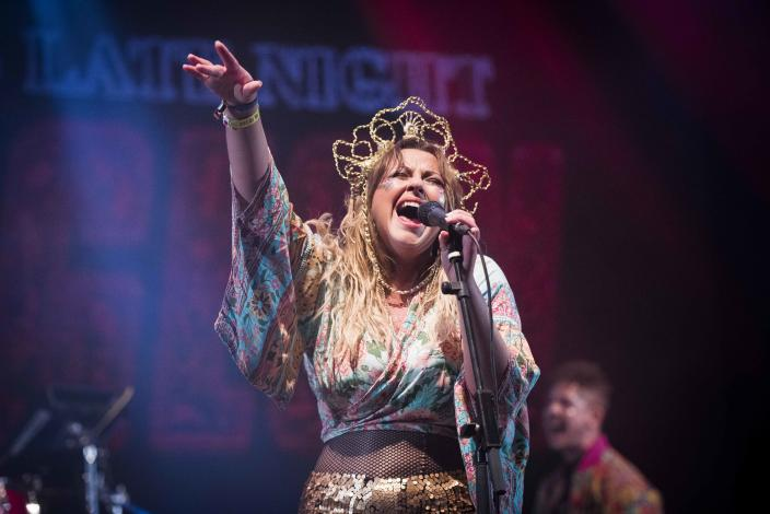 Charlotte Church performs her Late Night Pop Dungeon live at Bestival 2017 at Lulworth Castle - Wareham.  Picture date: Saturday September 9, 2017. Photo credit should read: David Jensen / EMPICS Entertainment