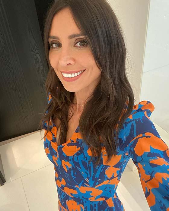 christine-lampard-printed-dress-loose-women