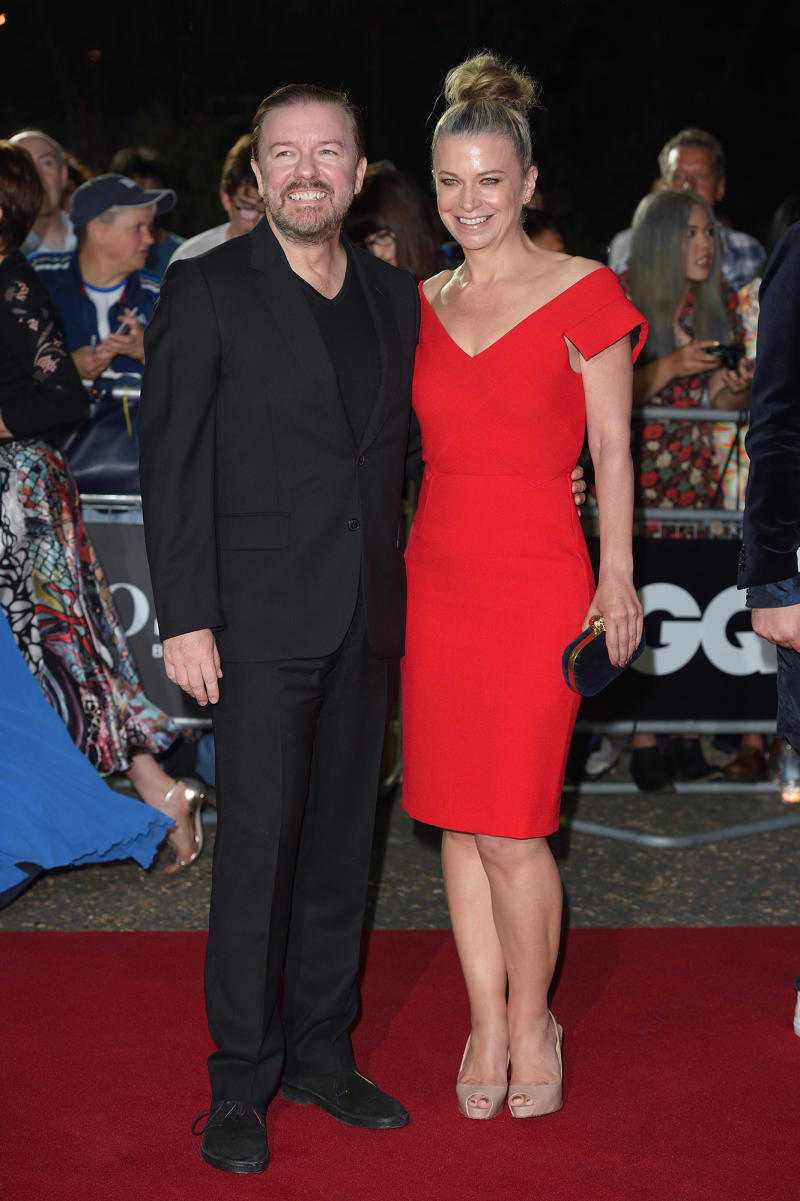 530c72ff3f Ricky Gervais Opens Up About His 35-Year Love with Jane Fallon & How They  Survived Tough Times